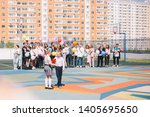 moscow  russia   22 may 2019 ...   Shutterstock . vector #1405695650