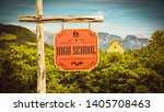 street sign the direction way...   Shutterstock . vector #1405708463