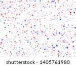 american independence day stars ... | Shutterstock .eps vector #1405761980