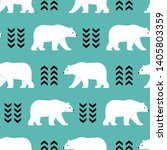 seamless vector pattern with... | Shutterstock .eps vector #1405803359