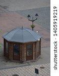 Wooden Kiosk  In Bistrita ...