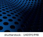 elegant blue perforated... | Shutterstock . vector #140591998