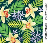 seamless pattern of colorful... | Shutterstock .eps vector #1405940630