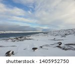 freezing breeze of the arctic... | Shutterstock . vector #1405952750