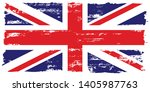 flag of great britain  of the... | Shutterstock .eps vector #1405987763