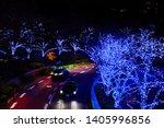 display of luminous in tokyo... | Shutterstock . vector #1405996856