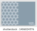 abstract line background with... | Shutterstock .eps vector #1406024576