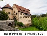 Rabenstein caste in Fraconian Switzerland in Bavaria, Germany.