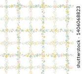 floral vector seamless pattern.... | Shutterstock .eps vector #1406068823