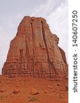 Monolith In Monument Valley In...