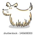 dog | Shutterstock .eps vector #140608303
