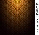 thailand thai vintage pattern... | Shutterstock .eps vector #1406100050