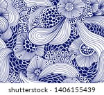 vector abstract illustration... | Shutterstock .eps vector #1406155439