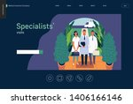 medical insurance  specialists... | Shutterstock .eps vector #1406166146