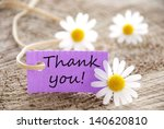a purple label with thank you... | Shutterstock . vector #140620810