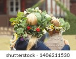 saint john's or dew holiday... | Shutterstock . vector #1406211530
