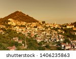 lastovo old town panorama ...   Shutterstock . vector #1406235863
