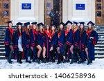 ukraine  kyiv   february 27 ... | Shutterstock . vector #1406258936