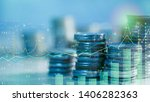 financial investment concept ... | Shutterstock . vector #1406282363