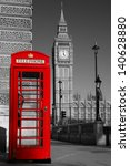 Westminster Phone Box In Color...