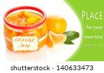 orange jam with zest and... | Shutterstock . vector #140633473