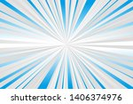 speed lines concentrated... | Shutterstock .eps vector #1406374976