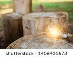 light bulb concept saving... | Shutterstock . vector #1406401673