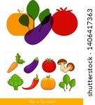 educational children game....   Shutterstock .eps vector #1406417363