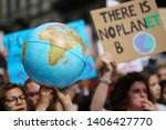 Youth strike for climate march...