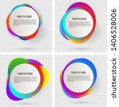 label blank template  white... | Shutterstock .eps vector #1406528006