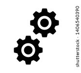 setting gear vector icon design ...