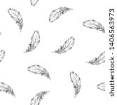 seamless pattern with grey...   Shutterstock .eps vector #1406563973