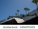 recycling of solar energy in... | Shutterstock . vector #1406591033