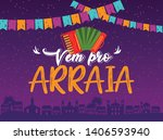 brazilian traditional... | Shutterstock .eps vector #1406593940