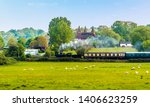 A Steam Train On The Kent And...