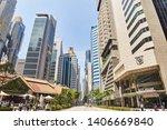 19 march  2019   singapore ... | Shutterstock . vector #1406669840