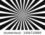 White And Black Ray Burst Style ...