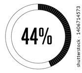 circle percentage diagrams 44 ...