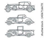 line vector icon set american...   Shutterstock .eps vector #1406716670