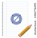 wrench icon with pen strokes.... | Shutterstock .eps vector #1406776490