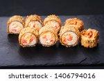 Japanese Sushi Tempura Maki...
