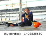 Senior Worker Accident Fall Of...