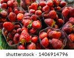 Fresh Strawberry In Fruits...