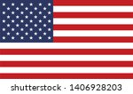 the united states of america... | Shutterstock .eps vector #1406928203
