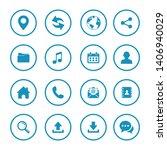 web icon set symbol. website...