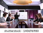 business training at office | Shutterstock . vector #140696980