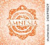 Amnesia Abstract Emblem  Orange ...