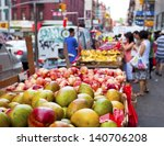 Chinatown Fruit Market In New...