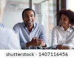 african american businessman...   Shutterstock . vector #1407116456