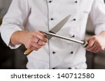 midsection of male chef... | Shutterstock . vector #140712580